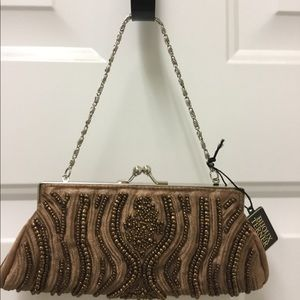 Bijoux Terner beaded handbag